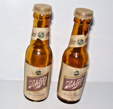 Vintage Schlitz Beer Bottle Salt & Pepper Shakers