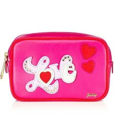 Juicy Couture Women's Case Juicy At Heart Cosmetic Case NWT Retails For $48
