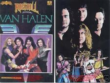 Van Halen Sammy Hagar David Lee Roth Unread 1st Print!