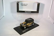 MINICHAMPS FORD AMERICAN HOT ROD BLACK WITH FLAMES MINT BOXED RARE SELTEN!!!