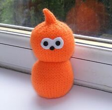 KNITTING PATTERN FOR EDF ENEGY MASCOT ZINGY