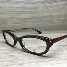 Oliver Peoples Laraine Eyeglasses Bordeaux Gold ROC Authentic 49mm