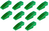 Lego Green Slope 3x1 No Studs 10 pieces (50950) NEW!!!