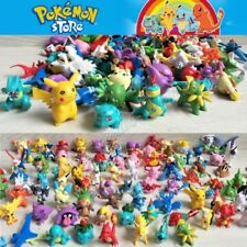 144Pcs Pokemon Pikachu Monster Mini Action Figures Pearl Pocket Toys Gift Random
