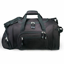 """GP 20"""" Lightweight Black Dual Sport & Travel Carry-On Gym Duffel with Cooler Bag"""