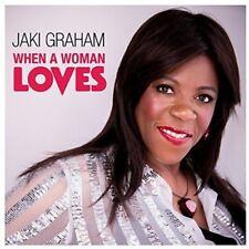 Jaki Graham - When A Woman Loves [CD] Sent Sameday*