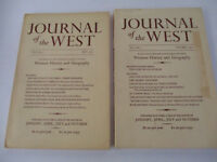 Western History Geography Journal of the West Cowboy Settler Pioneer #1 1962