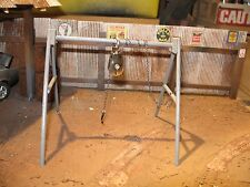 1/18 scale - A Frame - complete w/hoist and chain- for YOUR SHOP/GARAGE/DIORAMA