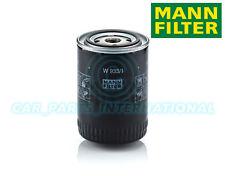 Mann Hummel repuesto de calidad OE Filtro de aceite del motor W 933/1
