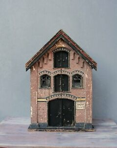 Antique Dollhouse, Amsterdam Warehouse, Exact architecture model made in 1905