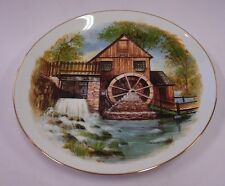 COUNTRY LIVING LEGACY OXMOOR GALLERY 'GRIST MILL' PLATE