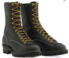 "Wesco Jobmaster 10"" Black Boots 110100"