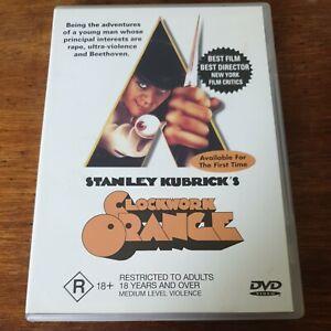 A Clockwork Orange DVD R4 Like New! FREE POST
