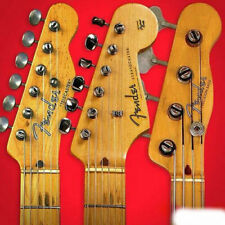 FENDER Headstock Logo STICKER Stratocaster Telecaster Jazz Precision Bass