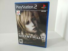 Playstation 2 PS2 Silent Hill 3 PAL Dutch Case and Manual With English Game