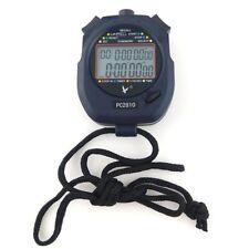 JZK Cronometro digitale professionale con batteria e cordino, cronometro (F4Z)
