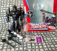 TransFormers Animated Shadow Blade Decepticon Leader Class Black Megatron G1 MIB