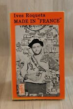 "Ives Roqueta - Made in ""France"" - livre occasion en occitan"