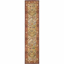 Safavieh Heritage Multi / Red Wool Runner 2' 3 x 20'
