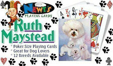 Playing cards: Bichon Frise Designed by Ruth Maystead (BIC-PC)