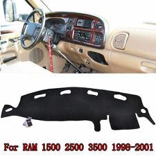 Car Anti-Slip Dashmat Shade Mat Dashboard for 1998-2001 DODGE RAM1500 2500 3500