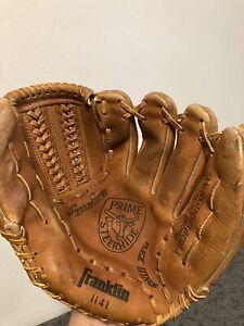 "Franklin 1141 RHT Leather Baseball Glove Prime Steerhide Hand Made 10""? D2"