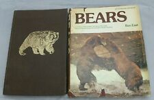 Lot Of 2 Hunting Bears Books 1979 , 1983 Hc