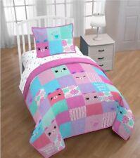 Shopkin's*Happy Places Patch Twin Size Sheet Set & Quilt & Sham New Super Soft