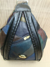 Rucksack-Damenrucksack-Bodybag-Multi Bag-Cityrucksack-Tasche echt Leder