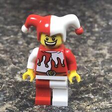 LEGO 852911 Castle Kingdoms Jester Minifigure Key Chain Key Ring Joker NEW