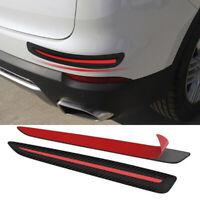 2 PCS Car Sticker Bumper  Protection Car Front/Rear Edge Corner Protection OZ