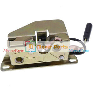 Front Door Latch with Sensor 7109661 For Bobcat 751 753 763 773 864 873 883 A300