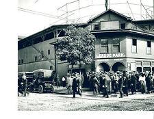 LEAGUE PARK CLEVELAND INDIANS NAPS 8X10 PHOTO BASEBALL OHIO USA