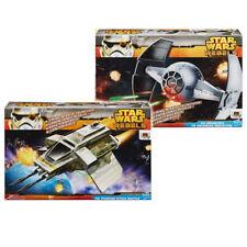 """Star Wars Rebeldes paquete de vehículos de juguete de envío para su uso con 4"""" figuras regulares"""