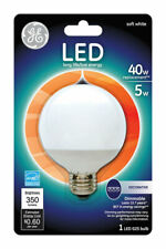 GE  G25  E26 (Medium)  LED Bulb  Soft White  40 Watt Equivalence 1 pk