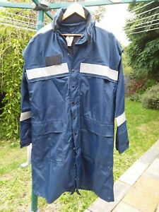 Genuine Maritime Australian Navy foul wet all weather lined jacket