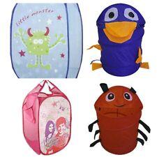 nEw CHILDRENS POP UP HAMPER - Kids Toddler Toy Storage Baby Laundry Basket