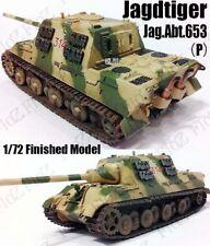 WWII Jagdtiger Porsche hunting tiger tank S.Pz.jag.Abt.653 1/72 tank Easy model