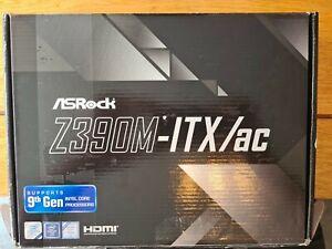 ASRock Z390 Phantom Gaming-ITX/AC, Intel Z390 - Sockel Black