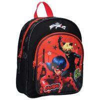 Miraculous Ladybug Cat Noir Rucksack Bagpack Kinder Tasche Schultasche 45 cm