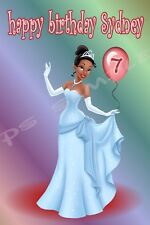 4x6 Disney Cruise Stateroom Door Magnet - BIRTHDAY 10 - Princess - Personalized