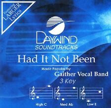 Gaither Vocal Band - Had It Not Been - Accompaniment/Performance Track – New CD