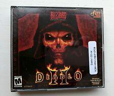 Diablo Ii Pc Game Cd-Rom 3 Discs 2000 Windows Mac Blizzard