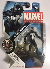 Marvel Universe 3.75 Black Costume Spider-man Figure, spiderman