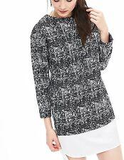 NWT Banana Republic New $110.00 Women Layered Tweed Shift Size 4, 6