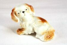Vintage precious Porcelain Crocker Spaniel dog puppy figurine
