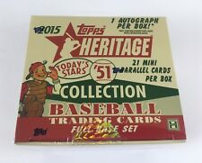 2015 Topps Heritage '51 Collection David Black Back Mini