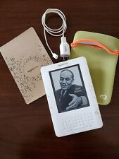 Amazon Kindle (2nd Generation) 2GB, 3G (Unlocked), 6in - White
