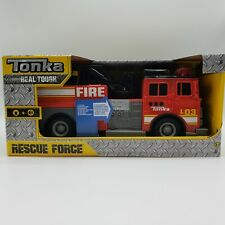 Tonka Rescue Force 12-Inch Ladder Fire Truck With Lights And Sounds  New In Box