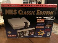 Nintendo NES Classic Edition Console with 30 Classic NES Games Works Great